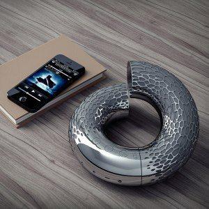 AeroTwist - elegant Bluetooth-högtalare