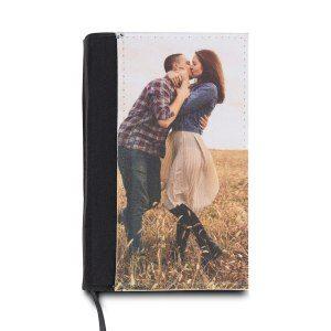 Anteckningsbok med foto