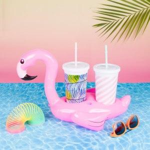 Badring för drickan - Flamingo