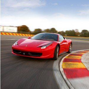 Bankörning Ferrari 458 - Track