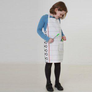 Barnförkläde att måla på