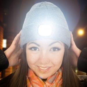 Beamie LED-mössa