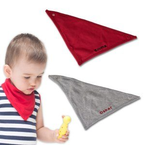 Bebis-scarf med namn