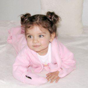 Bebisfilt med ärmar