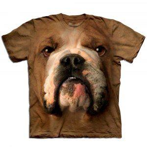 Big Face Tier-T-Shirts - Bulldogge