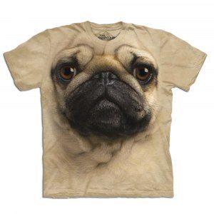 Big Face T-shirts - Förstorad hund