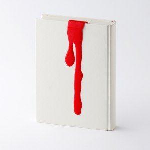 Blodigt bokmärke