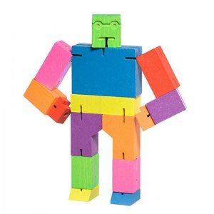 Cubebot - Trickreiches Roboterpuzzle - bunt