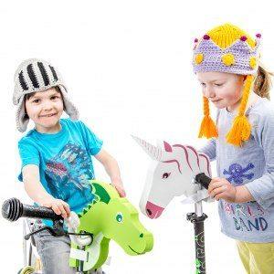Dekorationsdjur för cykelstyret
