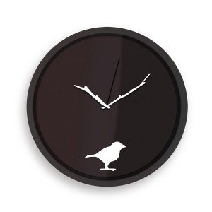 Den pigga fågeln - Väggklocka