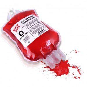 Duschgel blodpåse