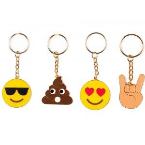 Emoji - Nyckelring