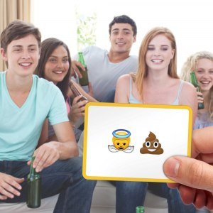 Emoji spelkort