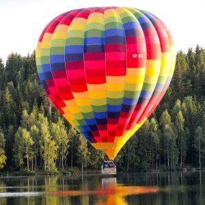 Flyg luftballong - Gränna