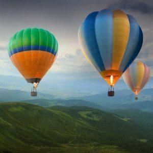Flyg luftballong - Kalmar