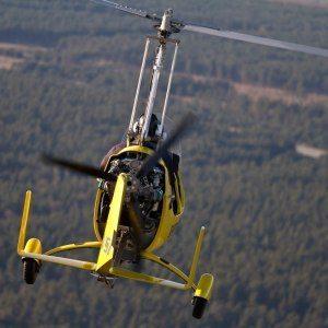 Flyg ultralätt gyrokopter side