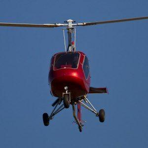 Flyg ultralätt gyrokopter, stängd cockpit - Field