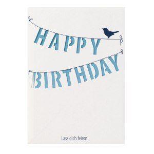 Födelsedagshälsning – Happy Birthday