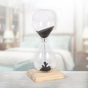 Förbluffande magnetiska timglas