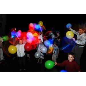 Glödande LED-Ballonger