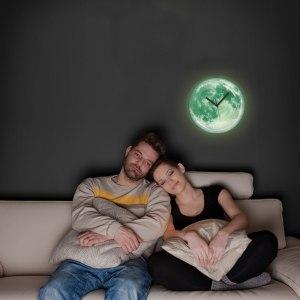 Glödande månur