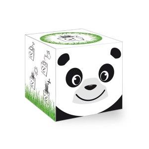 """Gräskub """"panda"""""""