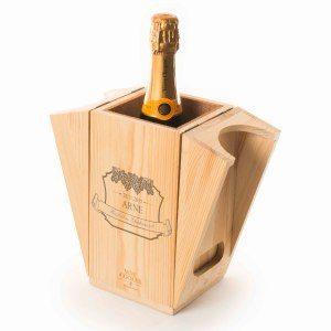 RACKPACK – gravierte Geschenkbox mit Weinkühler