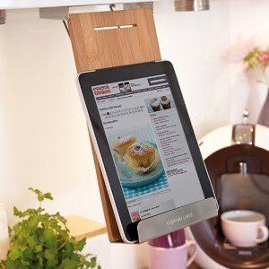 Hållare för kokbok, tablet, iPad & Co. Med eller utan personalisering