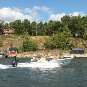 Heldagsfiske i skärgården - Stockholm
