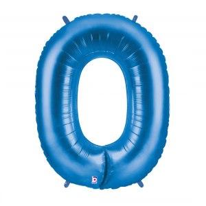 Heliumballong blåa siffror
