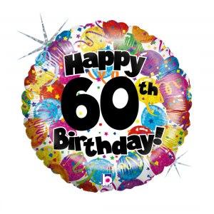 Heliumballonger för 60års-dagen