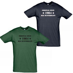 "Herren T-Shirt ""Original since"""