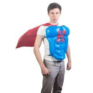 Hjälte för en dag - uppblåsbar utrustning