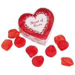 Hjärta med rosenblad
