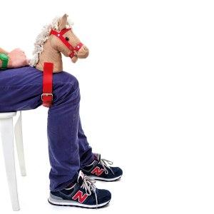 Hoppla hoppla ryttare 2.0 – Fastspändbart hästhuvud