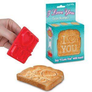 I Love You Toaststämpel