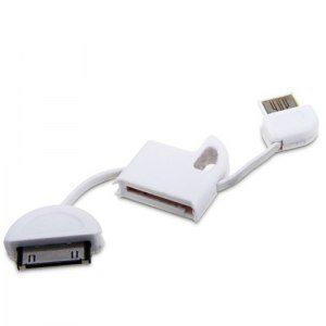 iPhone Schlüsselanhänger-Ladekabel mit Schlüssel