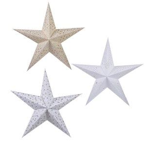 Julstjärna av papper
