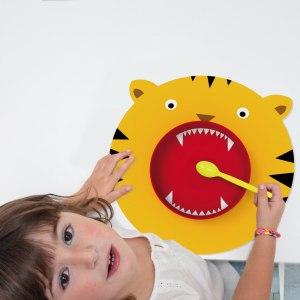 Köksset med djurmönster, för barn