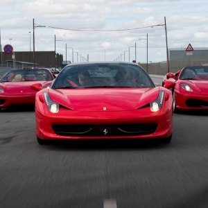 Kör Ferrari 458 – Front