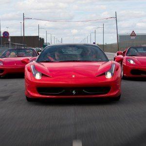 Kör Ferrari 458 – Back
