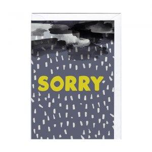 "Kort ""Sorry"""