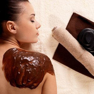 "Kroppsbehandling ""Just chocolate"" - Gimo"