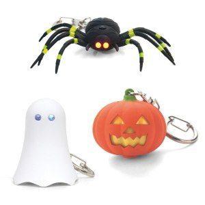 Gruselige LED Schlüsselanhänger Gespenst verpackt