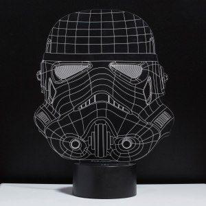 "LED -effektljus ""Stormtrooper"""