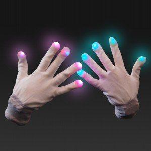 LED Handschuhe