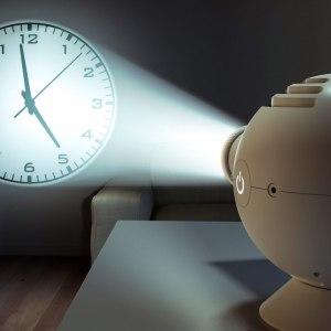 LED-Projektor klocka
