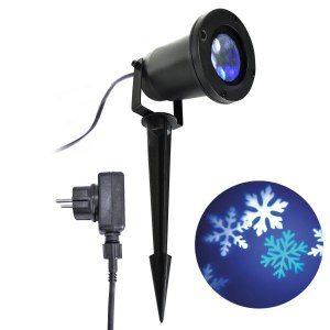 LED strålkastare snöflingor