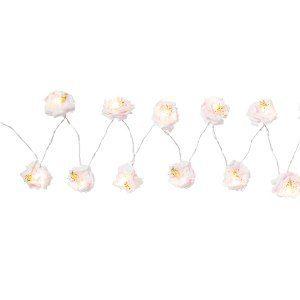 Ljusslinga med blommor