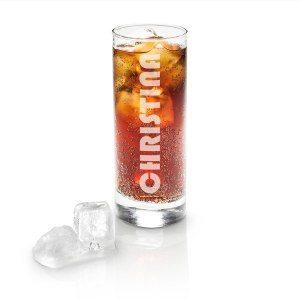 Longdrink Glas mit Gravur - Motiv 6